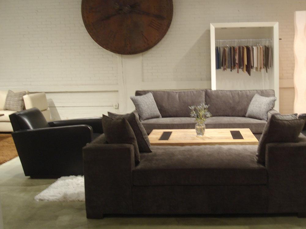 Baldwin Fabric Sofa and Chair Set - Iconix Collection