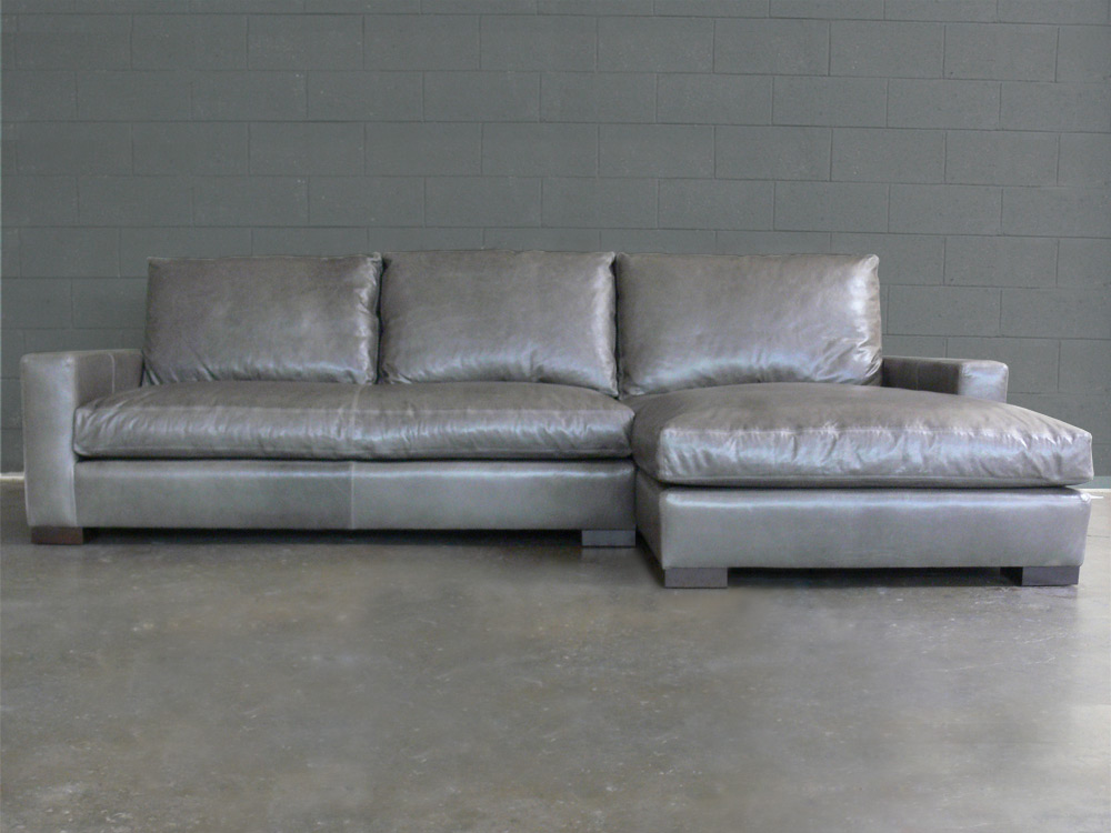 Braxton Fabric Sofa Chaise Sectional