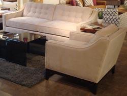 Charlton Fabric Sofa and Chair Set - Iconix Collection